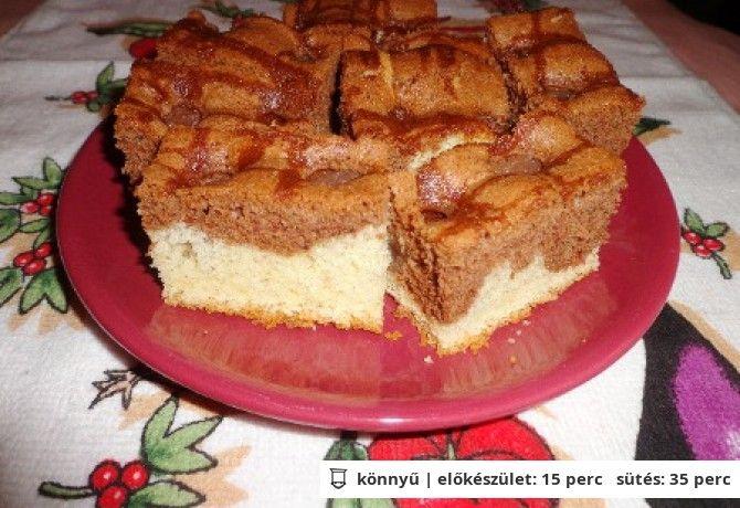 Tarka barka süti cseresznyével