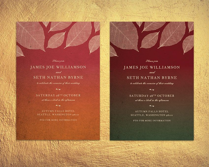 Final product image graphic design tutorial pinterest adobe how to create a fall themed wedding invite in adobe indesign by grace fussell fall is such a romantic and atmospheric time of year to get married stopboris Choice Image