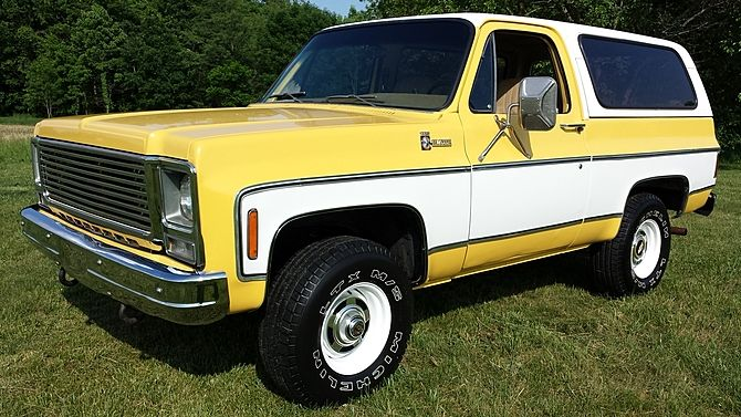 1979 Chevrolet Blazer 350 Ci Automatic Presented As Lot F153 At