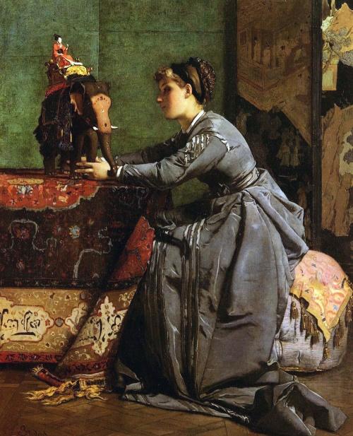 Alfred Stevens (1823–1906)   Художники, Музей ван гога ...