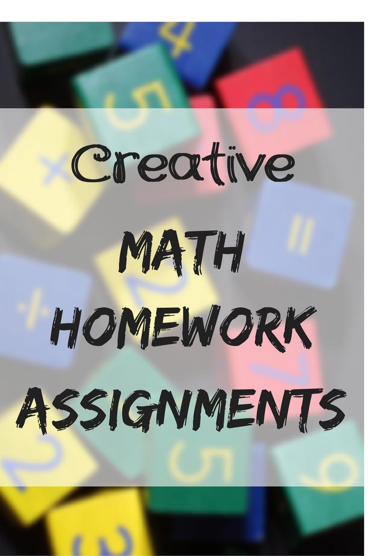 maths homework assignments