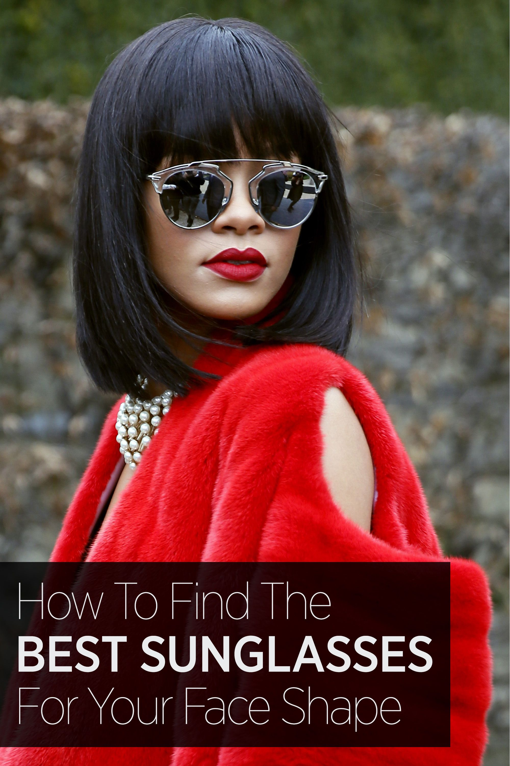 af52e5798738 Your guide to which sunglasses look the best on your face shape—whether  it s round