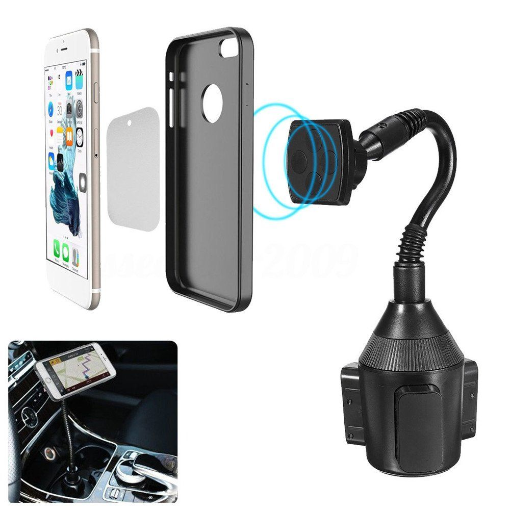 newest collection a5134 12b0c Car Cup Holder Leagway Magnetic Cup Holder Phone Cradle Mount for ...