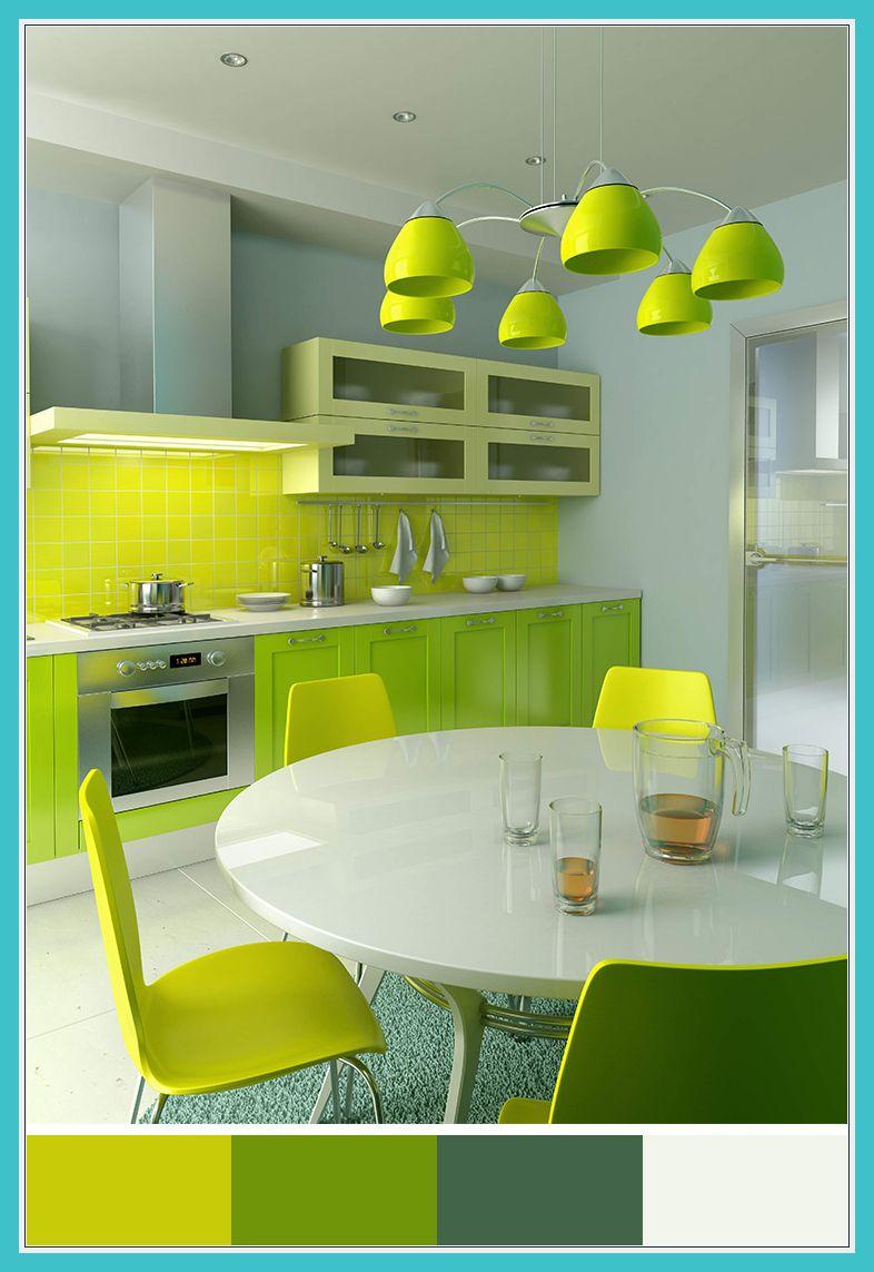 61 Reference Of Green Living Room Interior Design Green Kitchen Designs Green Kitchen Inspiration Kitchen Design Color