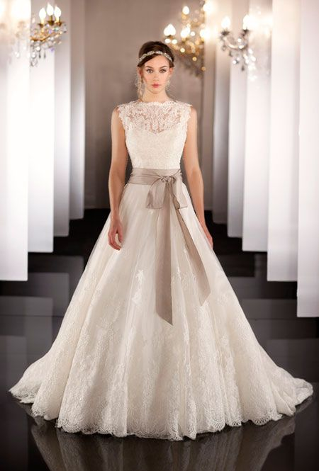 Charmant Martina Liana Wedding Dresses Fall 2017 Lace