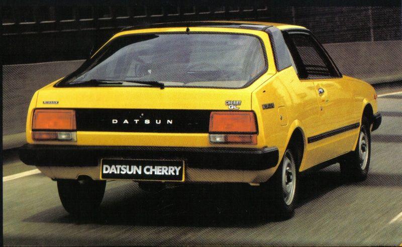 datsun cherry coupe gt   Nissan / Datsun   Japanese cars