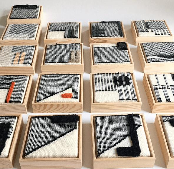 Sunday's Visual Diary #35: NOELLE SHARP #textiledesign