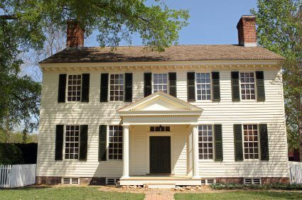Colonial Exterior House Colors Google Search