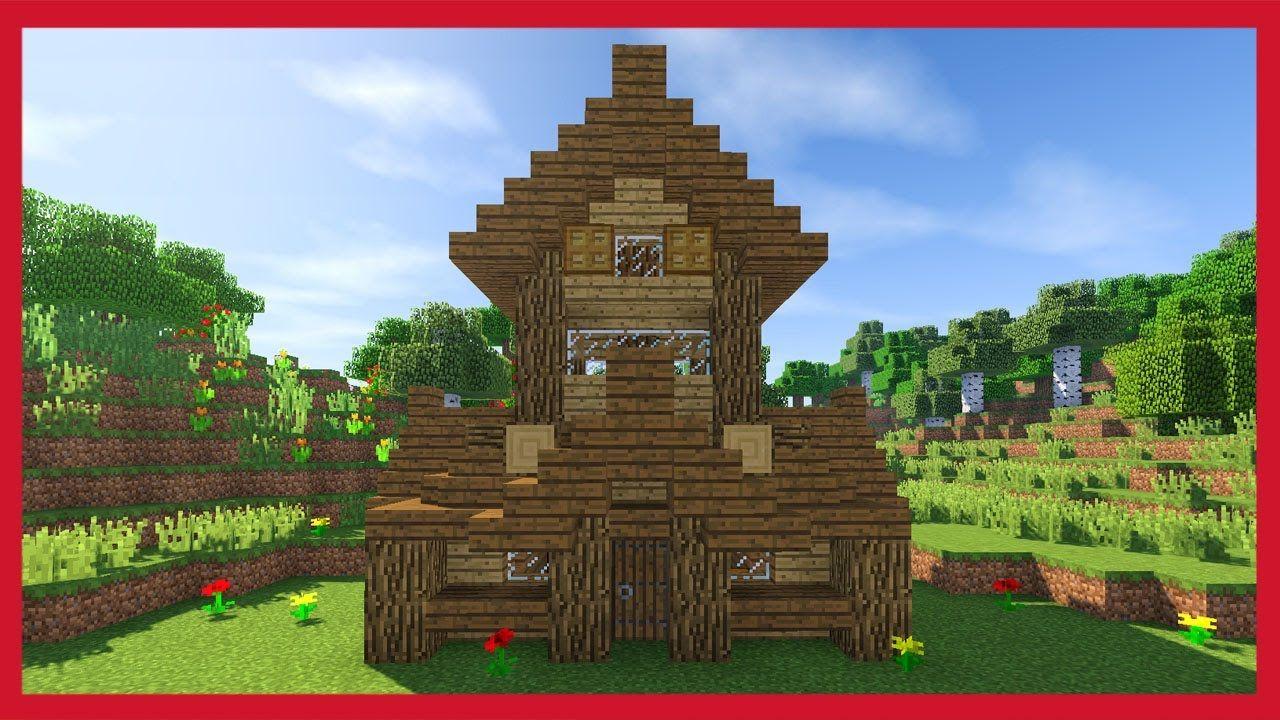 Case Di Montagna Minecraft : Minecraft come fare una piccola casa medievale tutorial