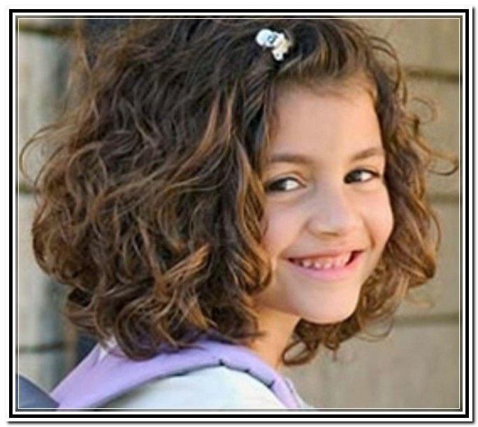 Updos For Little Girls With Curly Hair