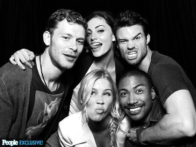 Klaus, Hailey, Elijah, Rebekah, And Marcel (The Originals)