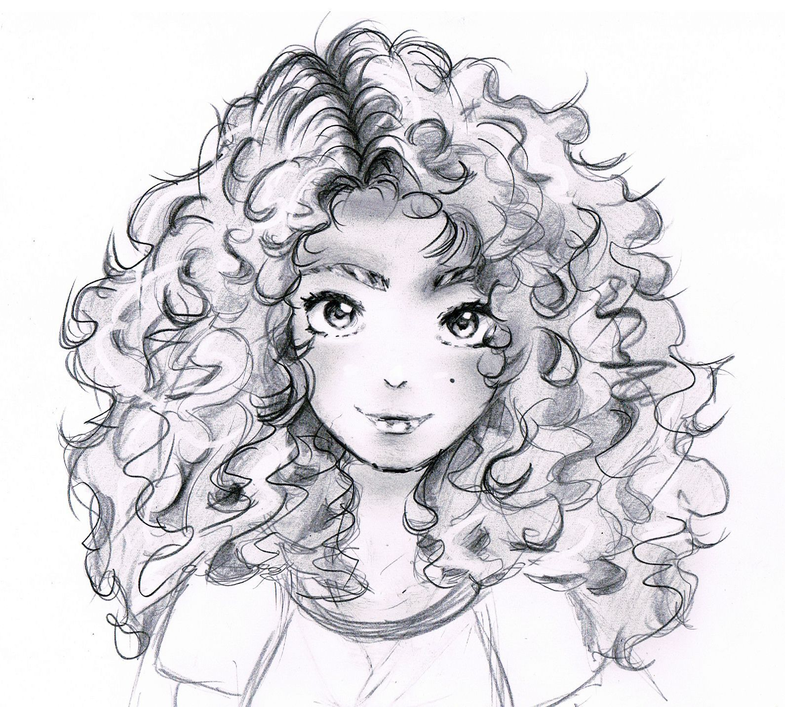 Drawing Hairstyles For Your Characters Girl Drawing Sketches Cartoon Drawings Manga Hair