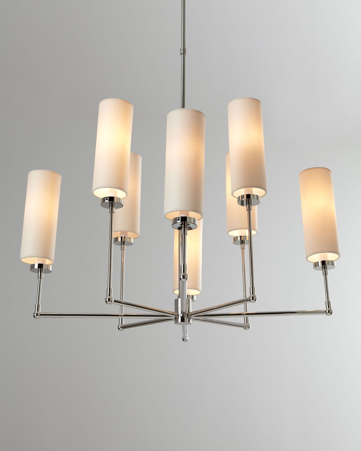 """VISUAL COMFORT """"Upide-Down Spider"""" Chandelier - Horchow"""
