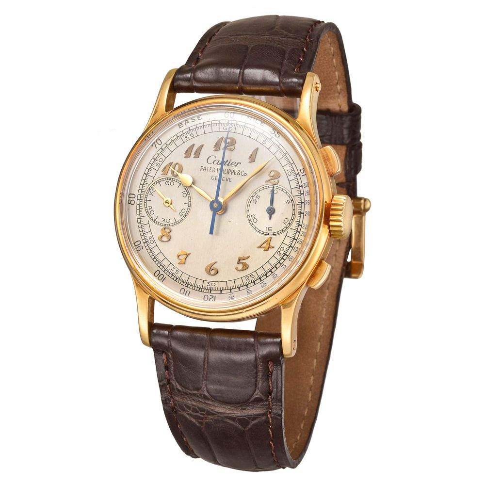 Vintage Patek Philippe For Cartier Uhren Armbanduhr Uhr