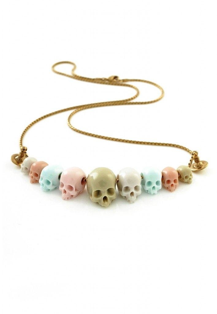 bbb3942acf12 Vivienne Westwood Skull Necklace - Skullspiration.com - skull designs