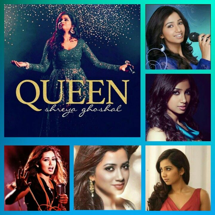 Collage Of The One And Only Shreya Ghoshal Ghosh Pinterest