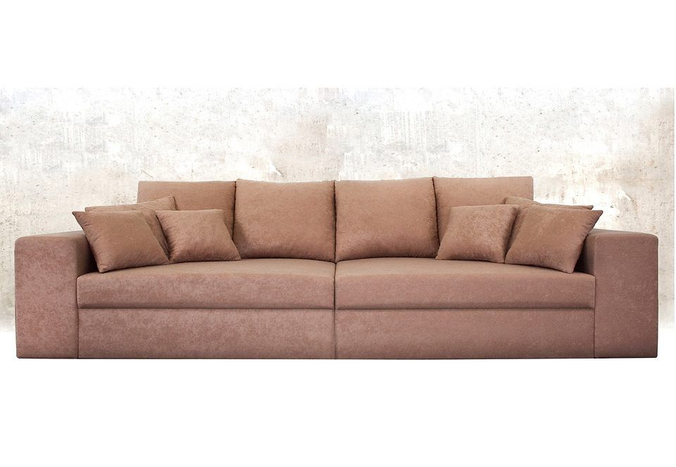 big sofa braun xl mit schlaffunktion mit bettkasten fsc zertifiziert yourhome jetzt. Black Bedroom Furniture Sets. Home Design Ideas