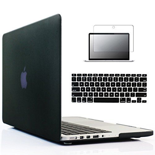 Laptop Rubberized Cover Case Hard Shell+keyboard Cover for Macbook 12/'/' 2015 NEW