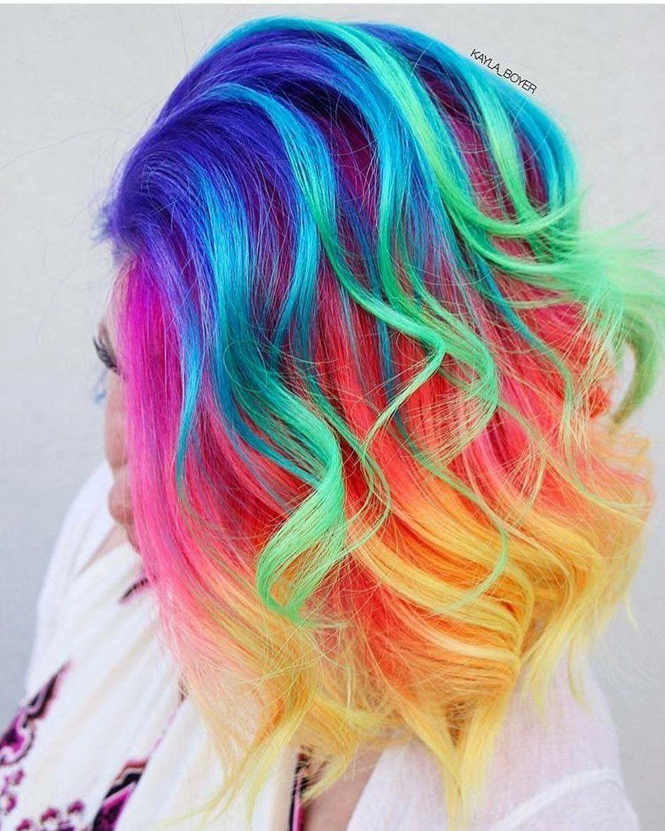 Pin On Haircut Curls Colour