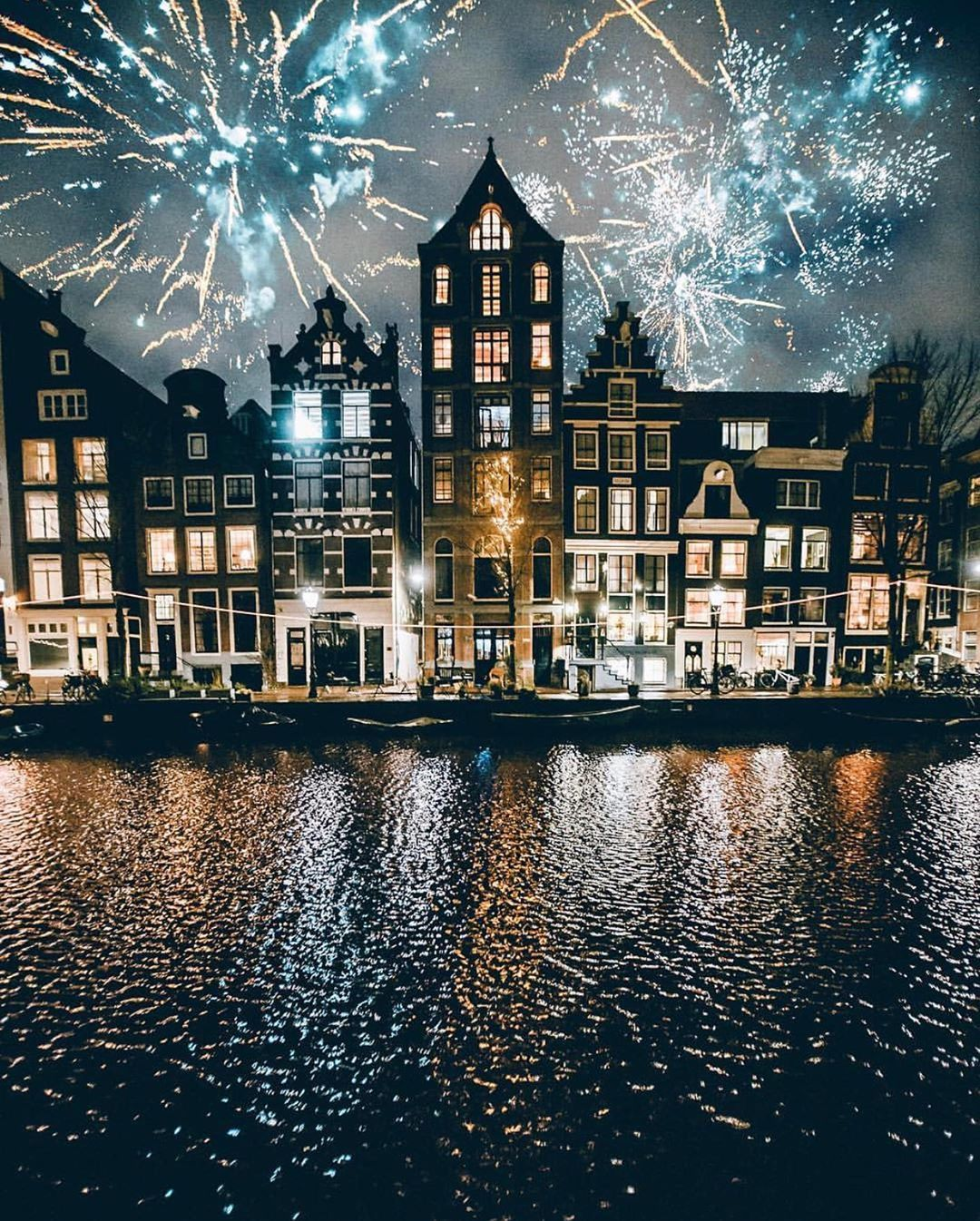 New Year S Eve In Amsterdam Netherlands Happy 2020 To Everyone In 2020 Amsterdam Photography Amsterdam Hotel Amsterdam Travel