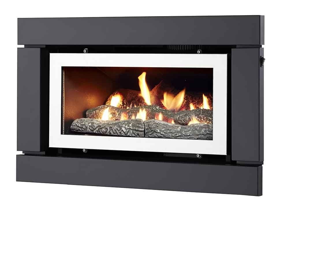 Luminar 1000 Inbuilt Gas Log Fire Gas Logs Log Fires Home