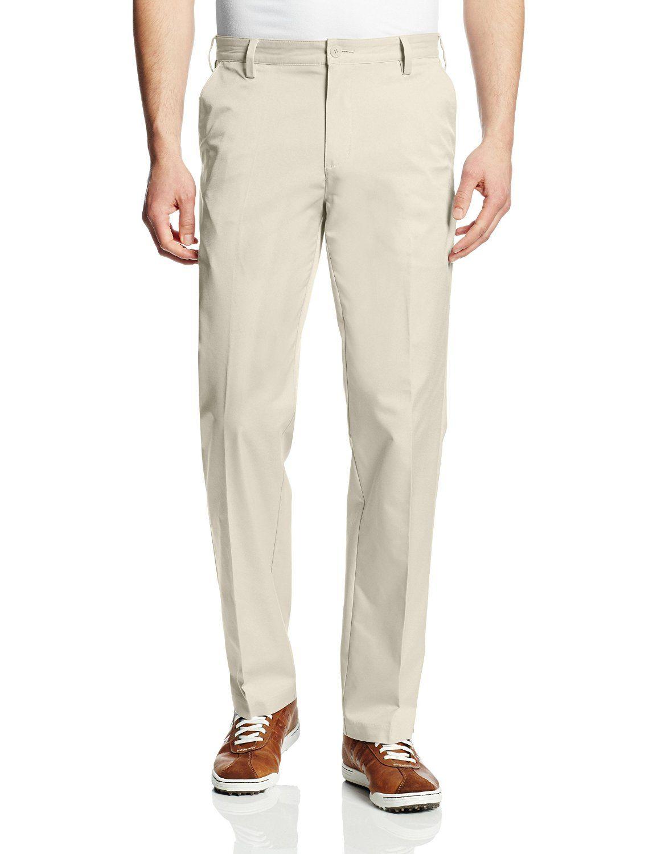 Hombre: adidas Golf PureMotion Flat Front Pant: deportes