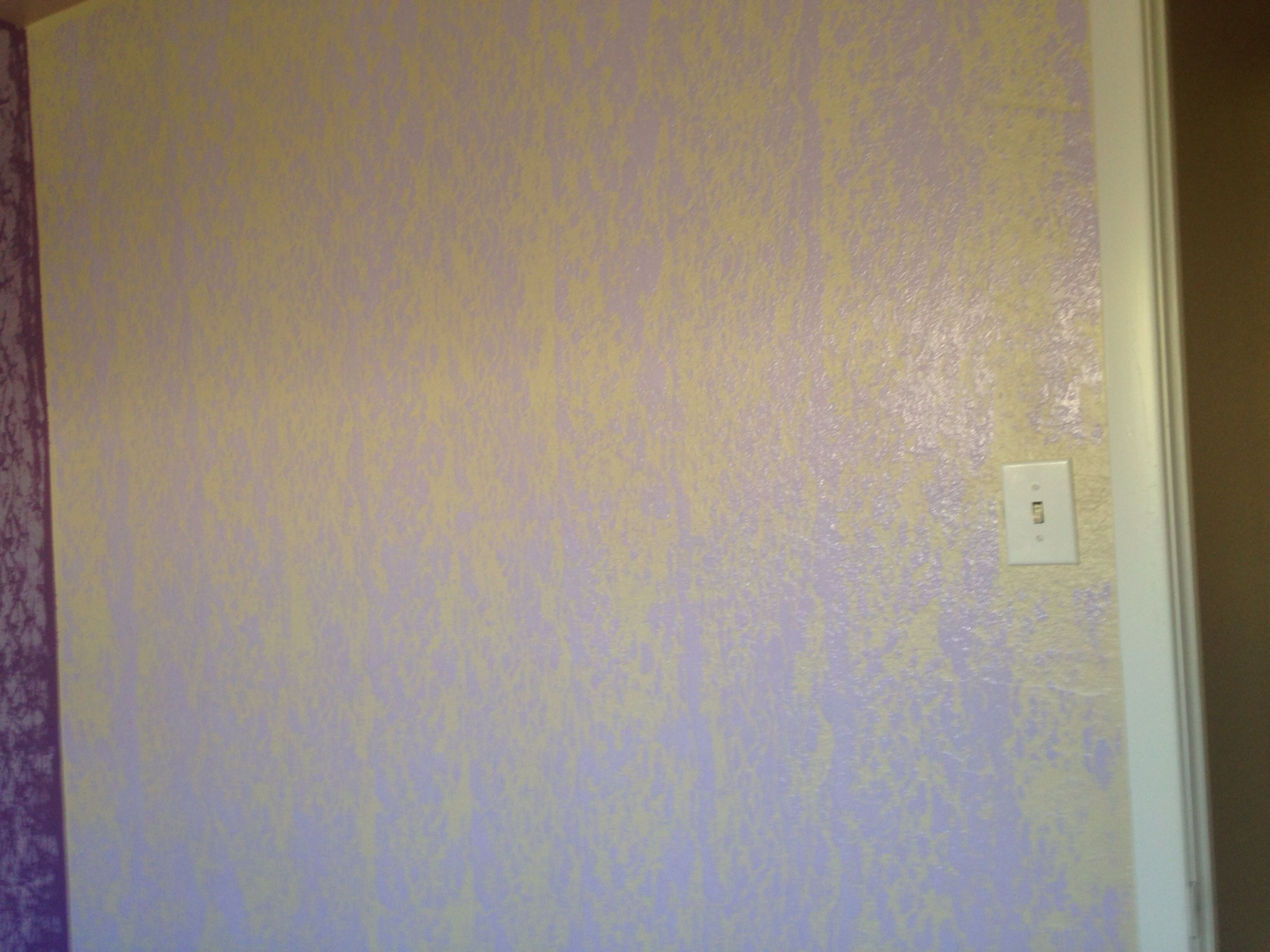 Another Wall With Rubber Band Paint Roller Paint Roller Wall