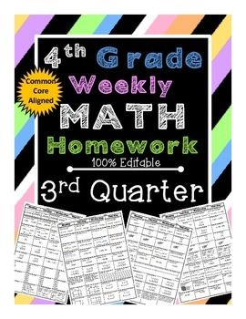 4th grade homework help math