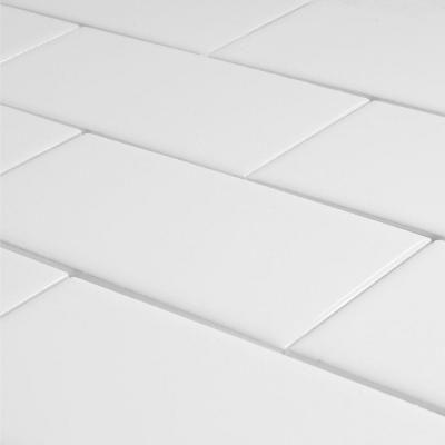 ceramic arctic white subway tile