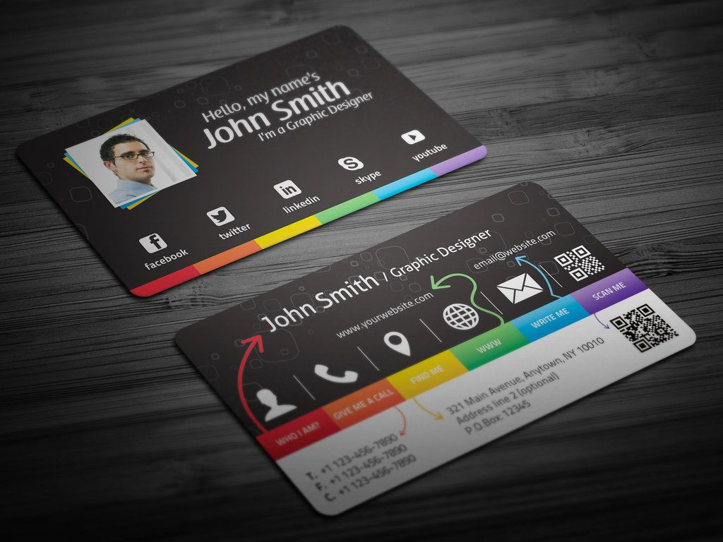 Creative Personal Business Card by ~malinemati on deviantART ...