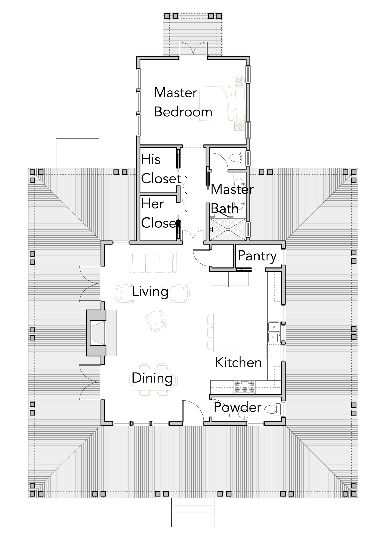 Standard House Plan Collection Engineering Discoveries Unique House Plans Bungalow Floor Plans Budget House Plans