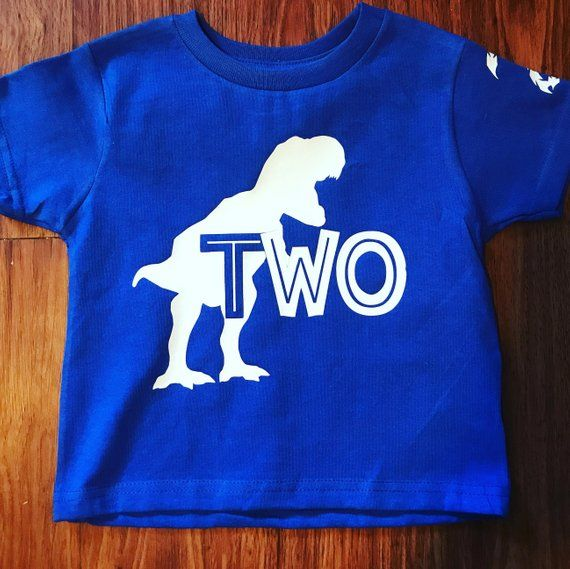 Dino Birthday Shirt Dinosaur Party T Rex