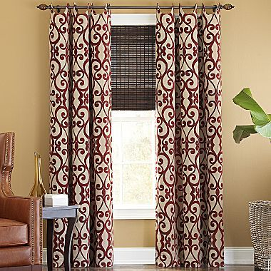 Jcpenney Dining Room Curtains Curtains Living Room Burgundy Curtains