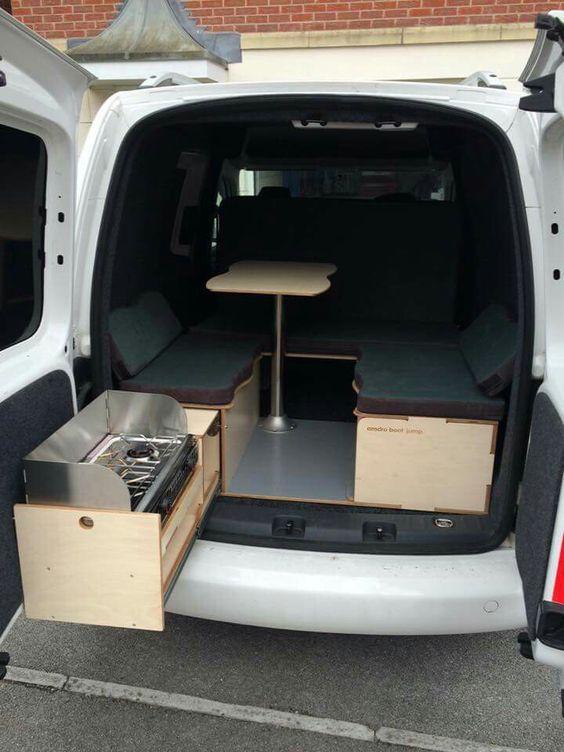 caddy camper camper kitchen camper campervan und van. Black Bedroom Furniture Sets. Home Design Ideas