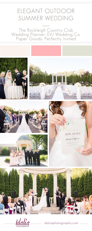 Rockleigh country club wedding photos idalia photography weddings