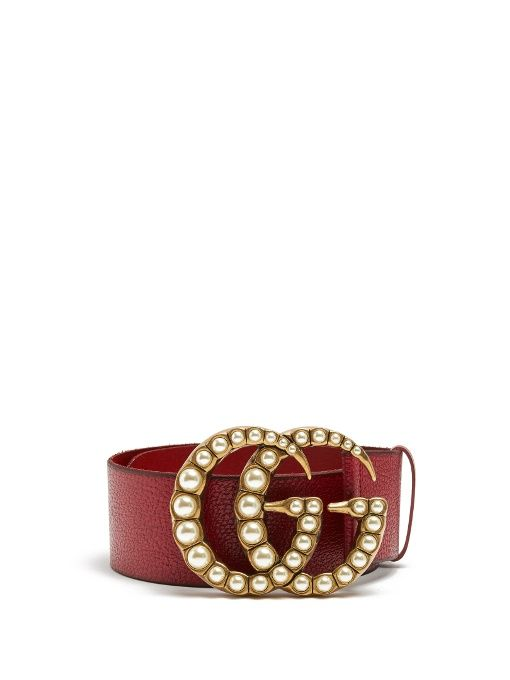 d4b1c9e380c250 GUCCI Gg-Logo Embellished 7Cm Leather Belt. #gucci #belt | Gucci in ...
