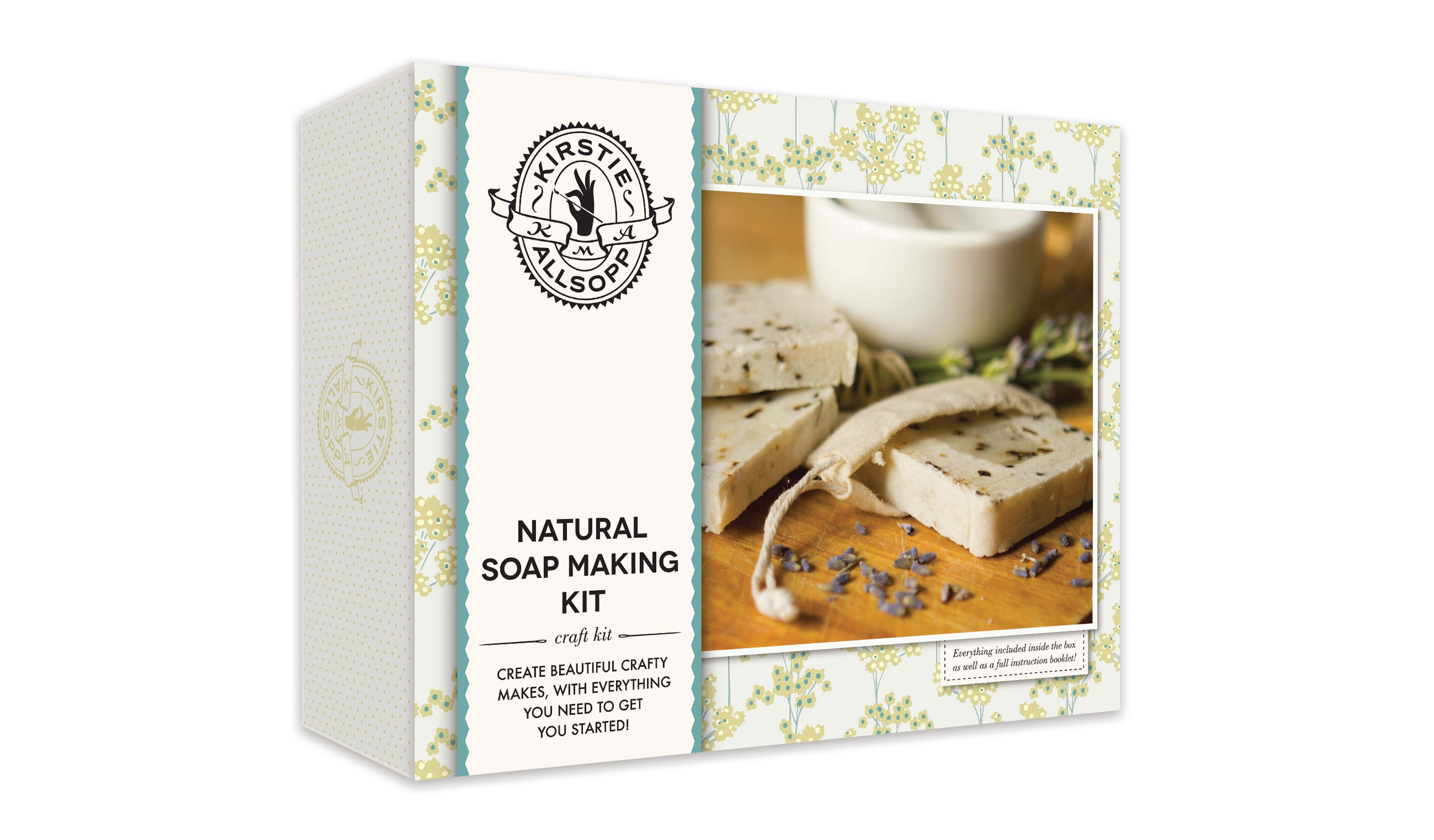 Kirstie Allsopp Natural Soap Making Kit exclusively