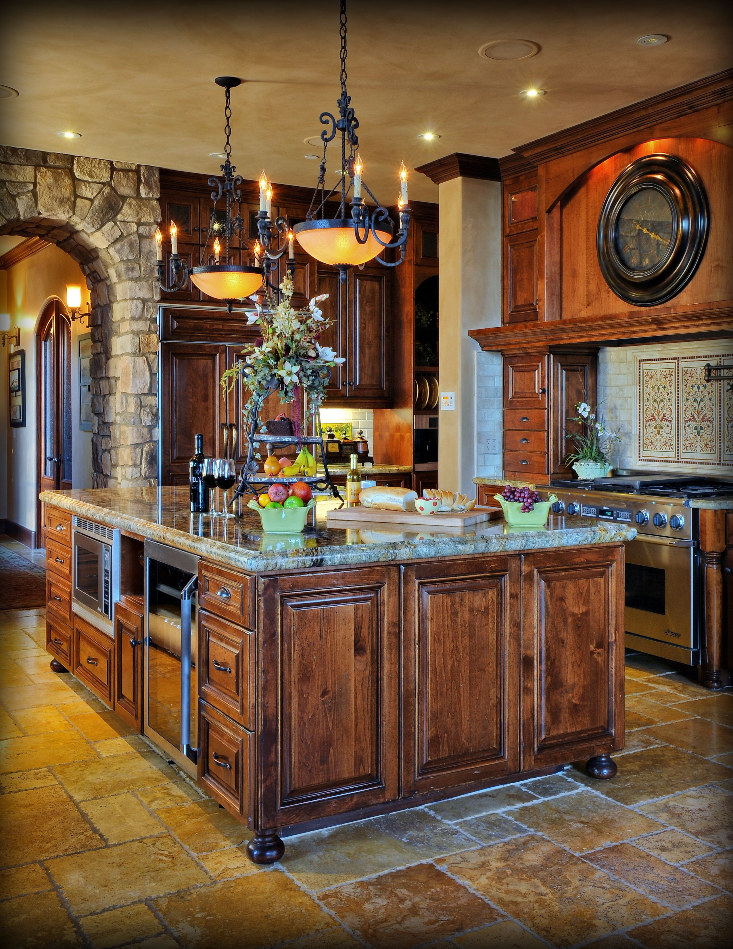 Holland S Custom Cabinets San Diego County 619 443 6081 Tuscan Kitchen Mediterranean Kitchen Decor Tuscan Decorating