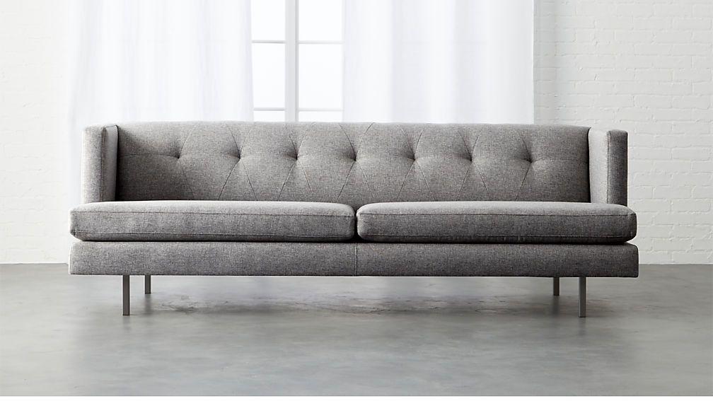 Avec Sofa With Gunmetal Legscb2 Exclusive Gray Sofa Minimalist