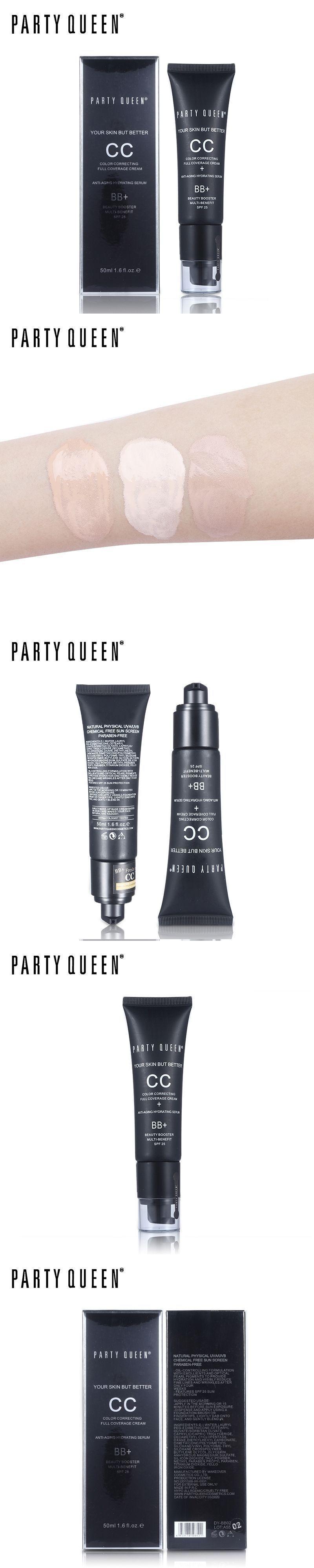 Party Queen Concealer Contouring Makeup Face Foundation CC Cream