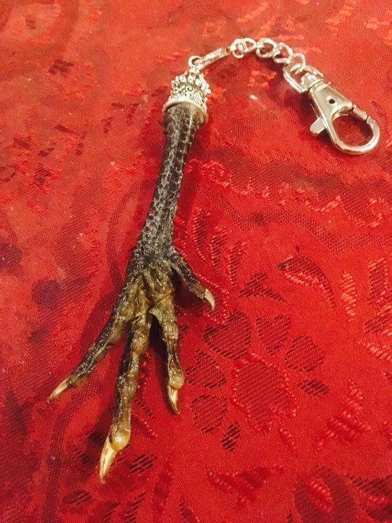 Voodoo Chicken Foot Key Chain | Products | Voodoo, Chicken, Key