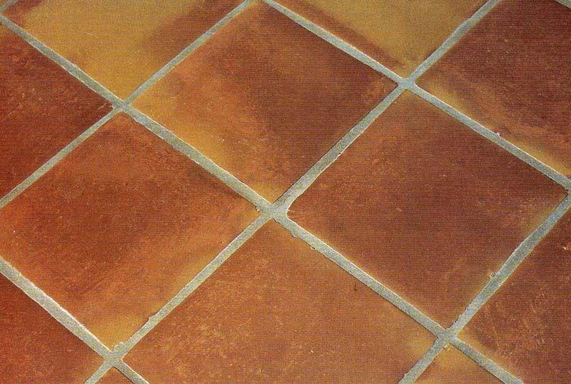 Mexican Saltillo Handmade Terracotta Floor Tiles 290mm