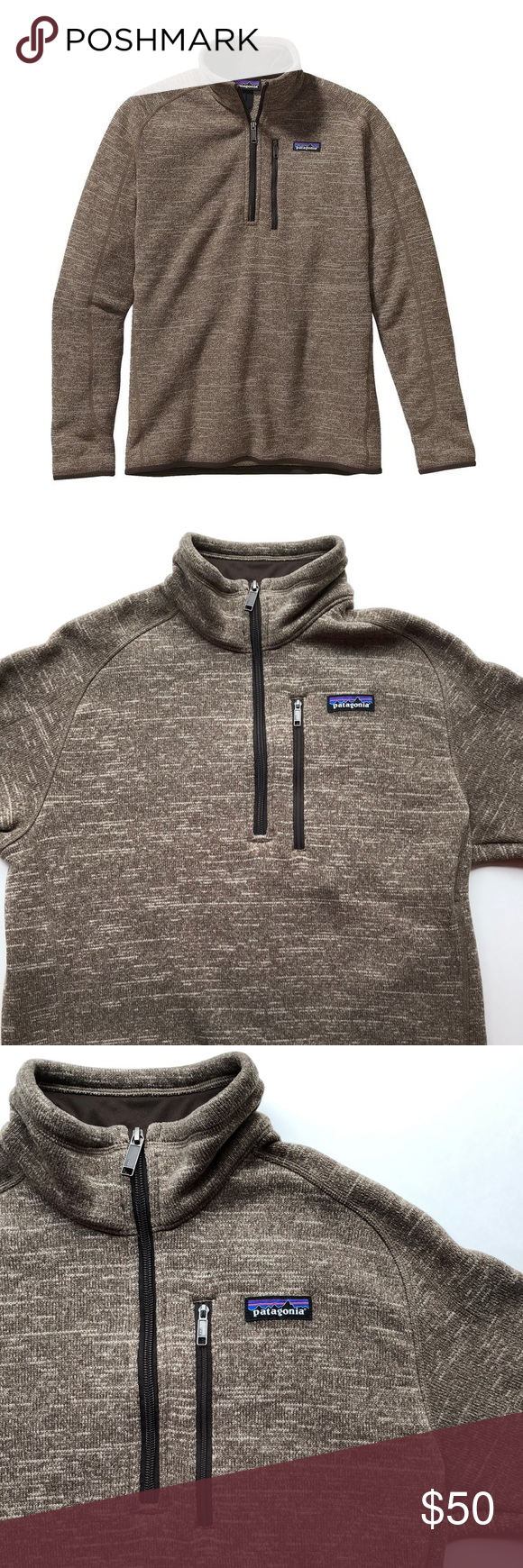 Patagonia Mens Better Sweater 14 Zip Fleece Patagonia Zip And