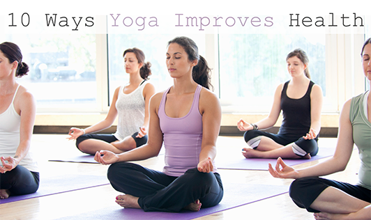 Have a look on benefits of Yoga