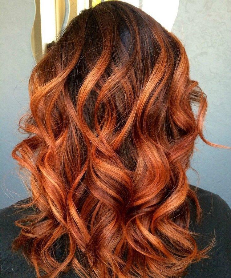 Rote haarfarbe olia