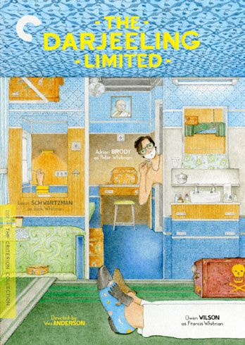 The Darjeeling Limited. Love every Wes Anderson Criterion Collection illustrated packaging.