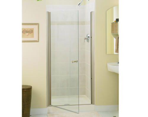 Finesse Frameless Hinge Shower Door At Menards Frameless Shower