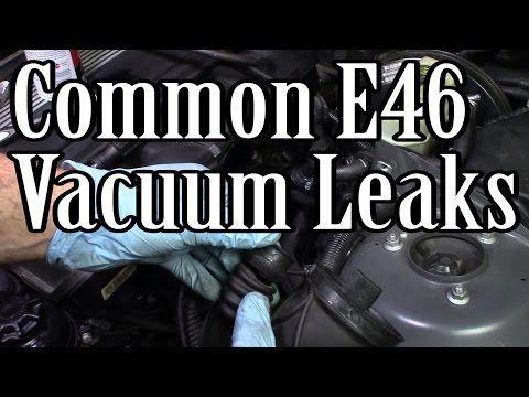 BMW E46 & E39 Most Common Vacuum Leaks P0171 & P0174