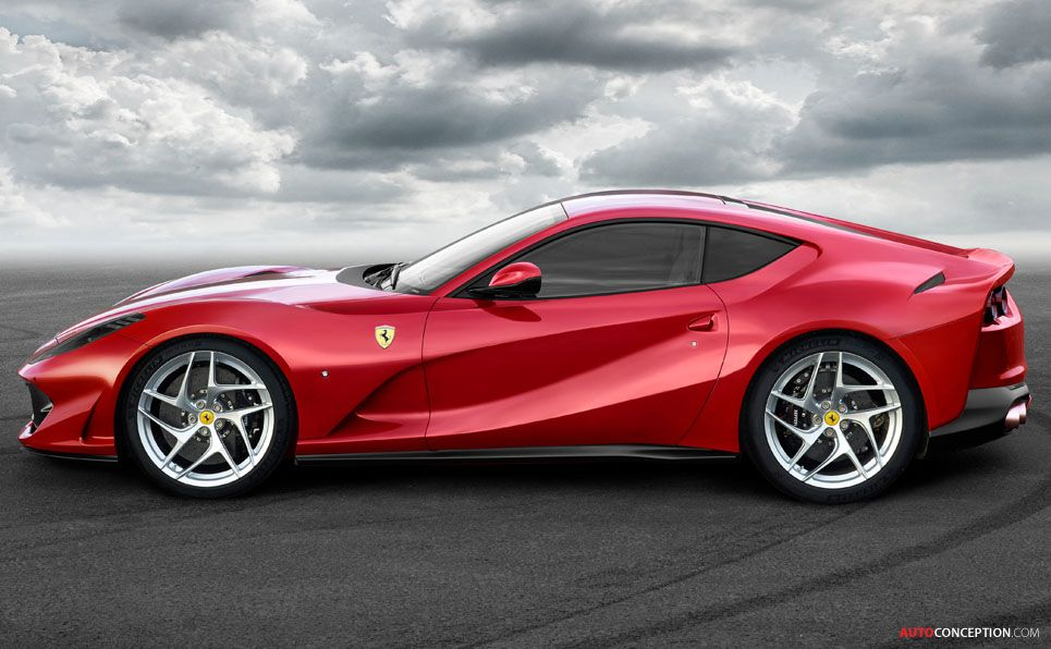 Meet The New Ferrari 812 Superfast Fastest Series Production Ever