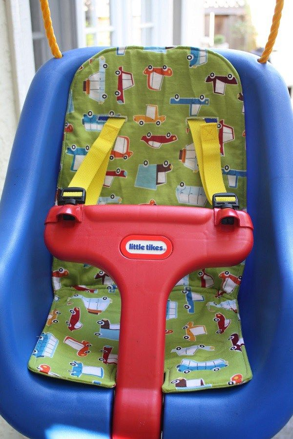 Tutorial Sew A Cushion For A Little Tikes Swing Little